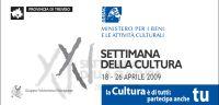 Settimana della cultura 2009
